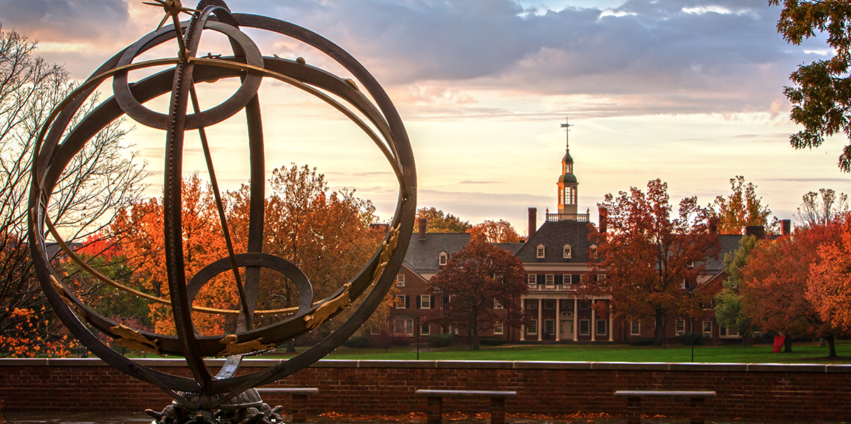 Sundial and McCracken Hall