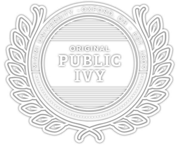 Original Public Ivy - Miami University - Oxford, Ohio - Est. 1809
