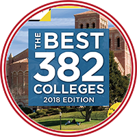 The Princeton Review - the Best 382 Colleges - 2018 edition