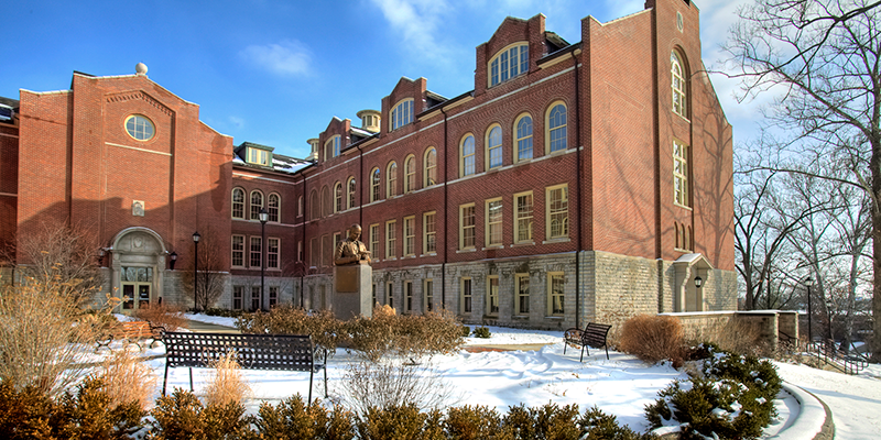McGuffey Hall, home of the College of Education, Health and Society