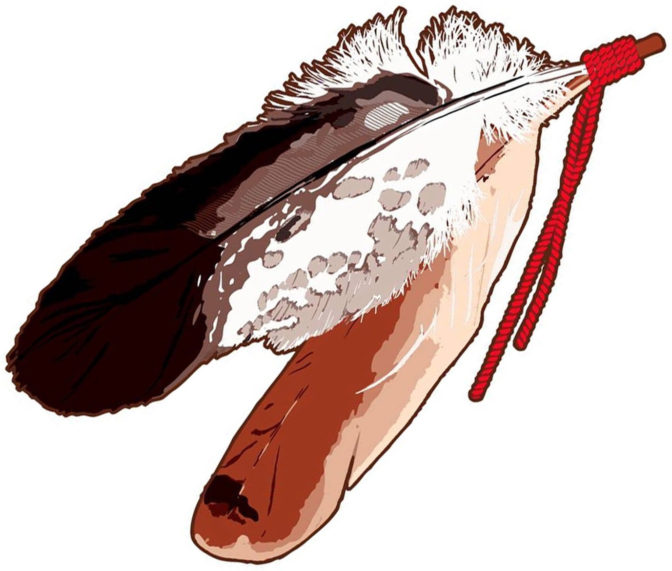 Feather image representing the partnership of the Miami Tribe and Miami University