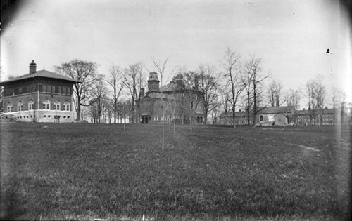 Photo of Miami Campus circa 1895