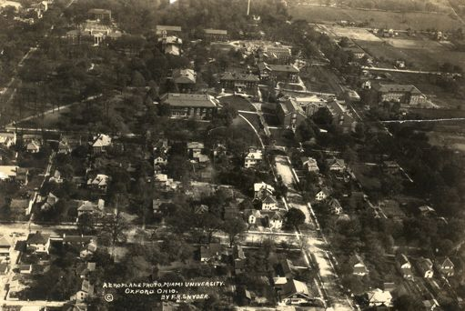 Aerial Photo of Miami Campus, 1925