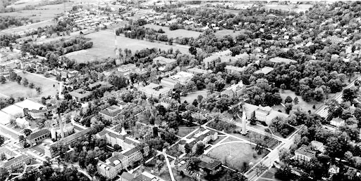 Aerial Photo of Miami Campus, 1967