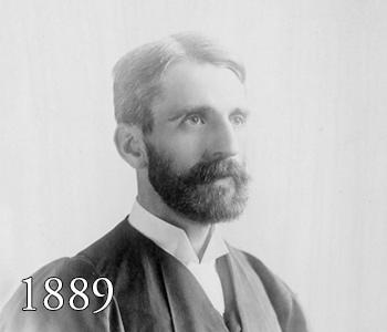 Ethelbert Dudley Warfield, 1889