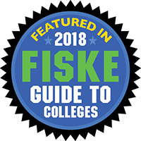 Featured in 2017 Fiske Guide to Colleges