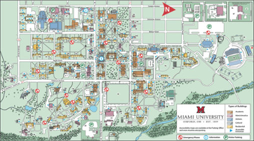 Oxford Campus Map