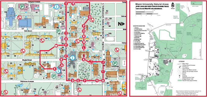 Oxford Campus Maps - Miami University