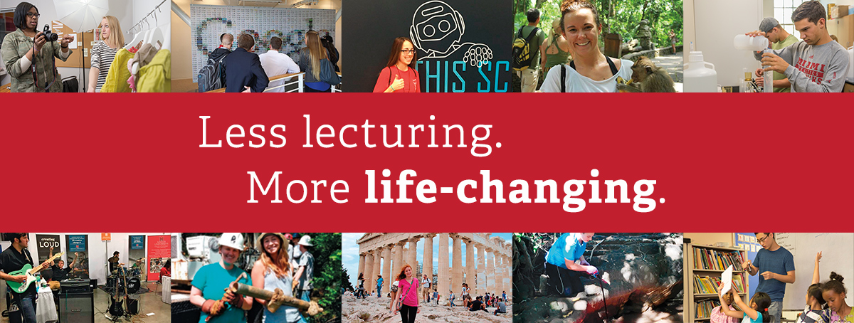 Less Lecturing. More Life-Changing.