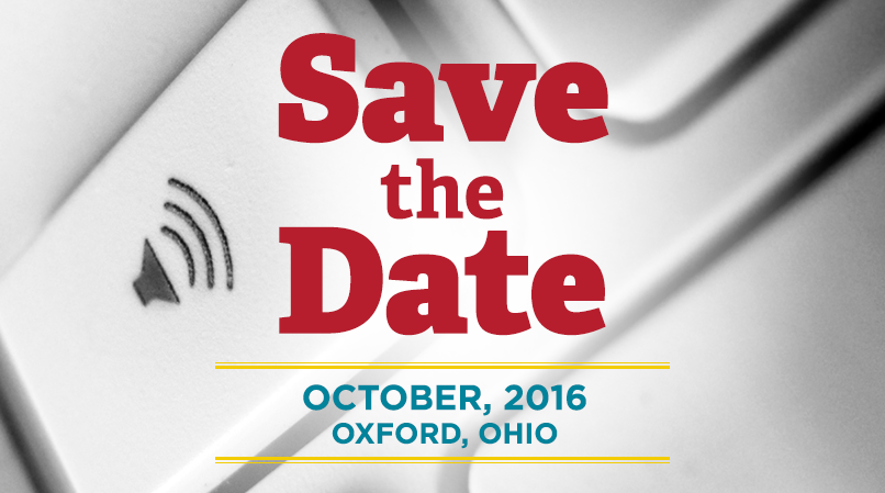 Save the date for the 2016 Accessibility Symposium in October!