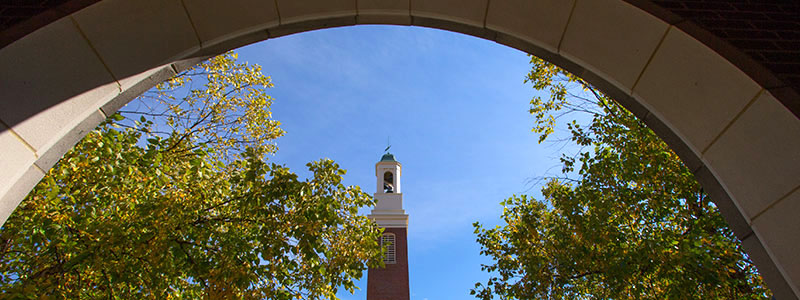 Bell tower and arch