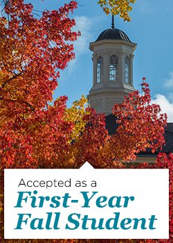 Accepted as a First-Year Fall Student