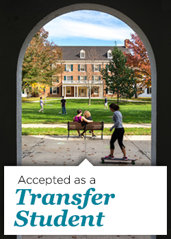 Accepted as a Transfer Student