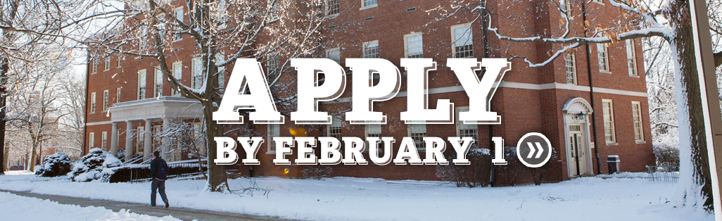 Apply by February 1