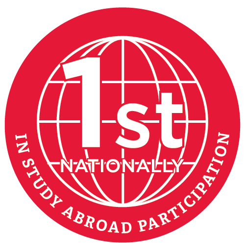 2nd nationally in study abroad participation.