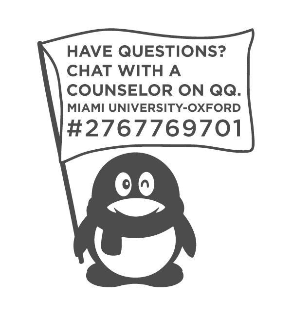 Have Questions? Chat with a counselor on QQ. Miami University-Oxford- #2767769701