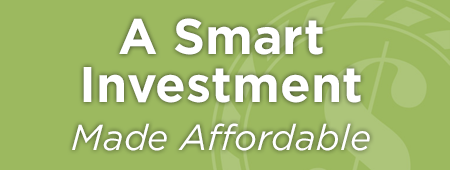 A Smart Investment Made Affordable