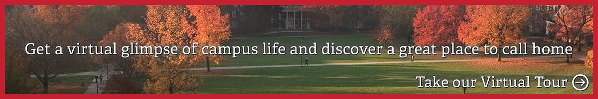 Virtual Tour: Get a virtual glimpse of campus life and discover a great place to call home