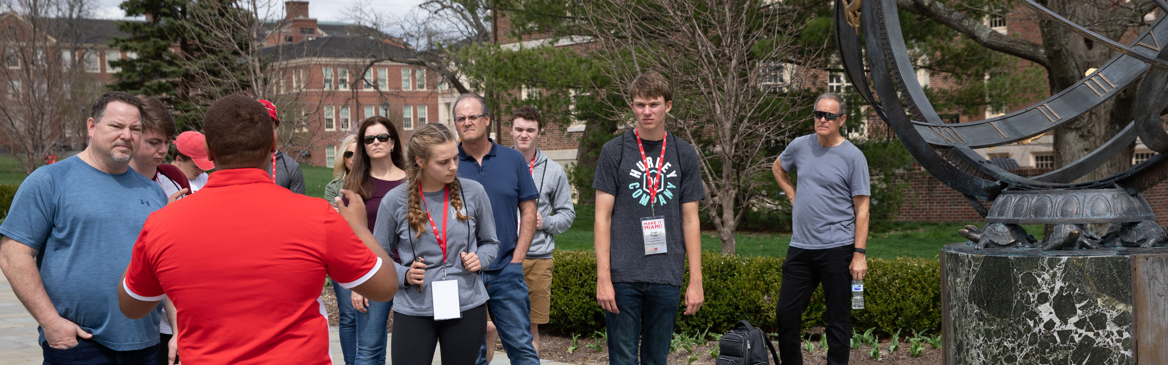 Campus tour at Miami University