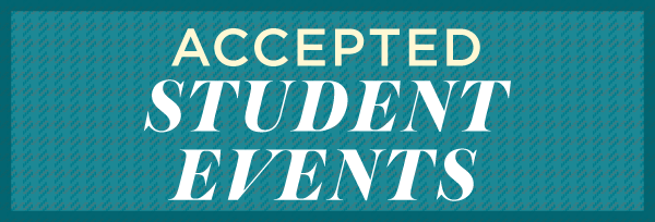 Accepted Students Invited