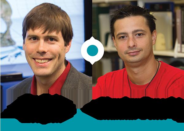 Dr. Eric Hodgson and Shankar Poncelet