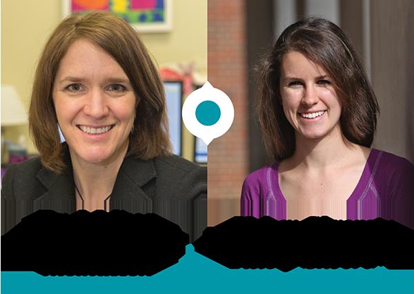 Dr. Melissa Thomasson and Kelsey Skvoretz