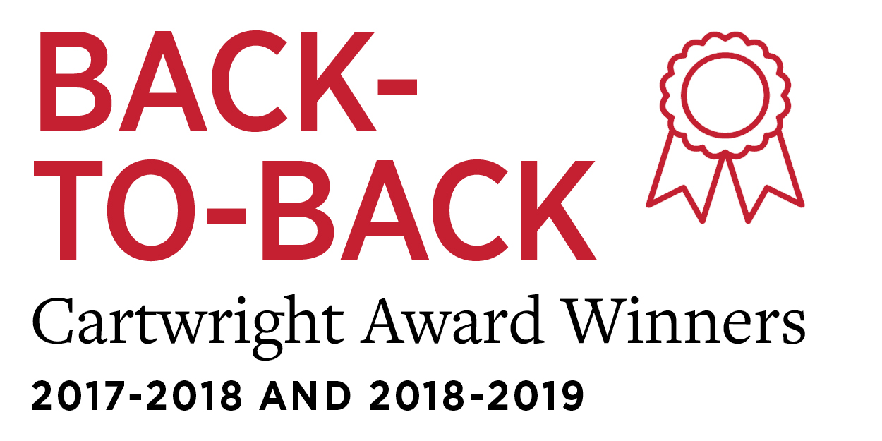 17-18 18-19 back-to-back cartwright award winners