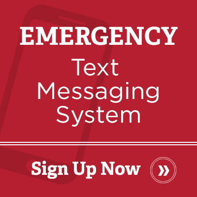 emergency text messaging system. sign up now.