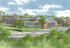 Rendering of the Armstrong Student Center
