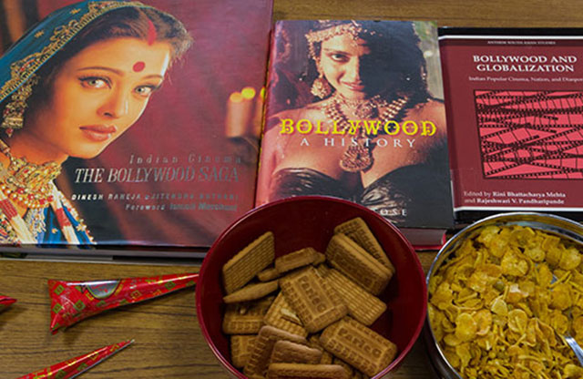 Take a look at what goes on in the Bollywood and Hindi language classes