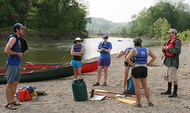 Last minute paddling instructions