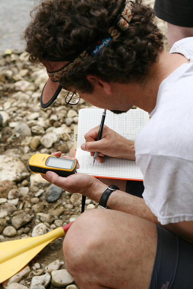 Using GPS for field notes