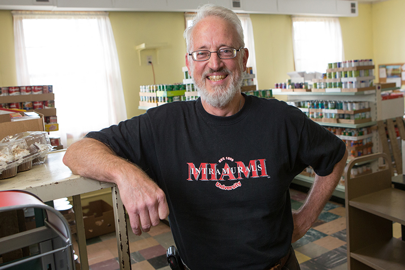 Bob Ratterman has headed the pantry since July 2013.