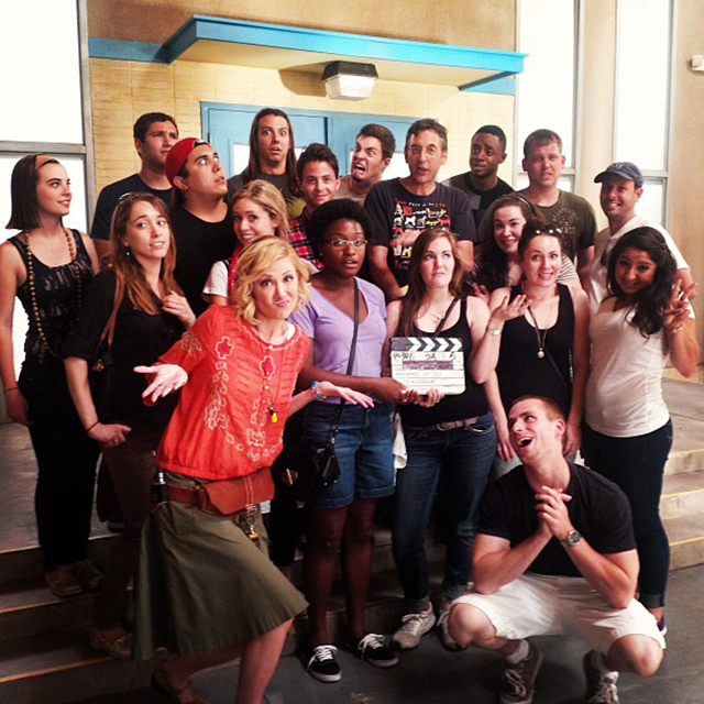 "Now they're getting awkward on the set of ""Awkward""!"
