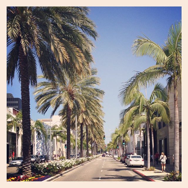 Let's go shopping on Rodeo Drive!