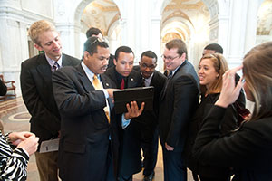 Miami students visit the Library of Congress