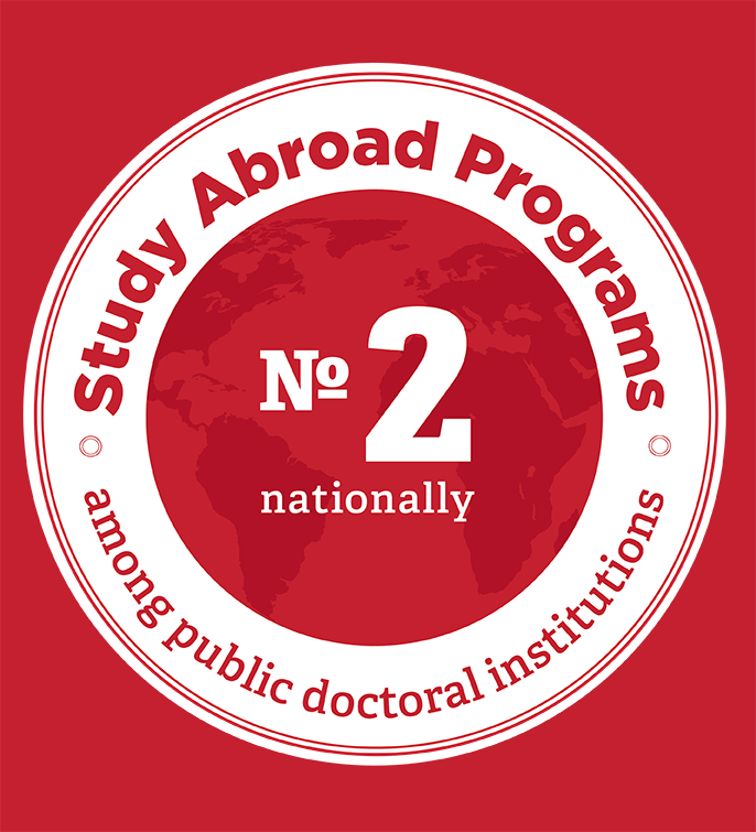 #2 for study abroad among public doctoral institutions