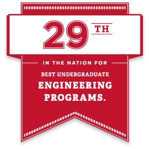 29th in the nation for best undergraduate engineering programs