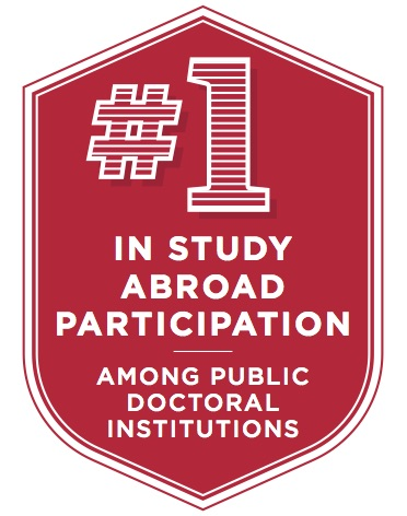 2nd in study abroad participation among public doctoral institutions.