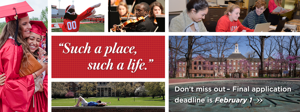 Such a place, such a life. Don't miss out. Final application deadline is February 1.
