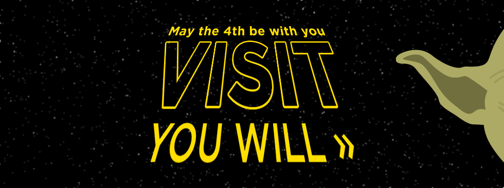 May the 4th be with you. Visit you will »