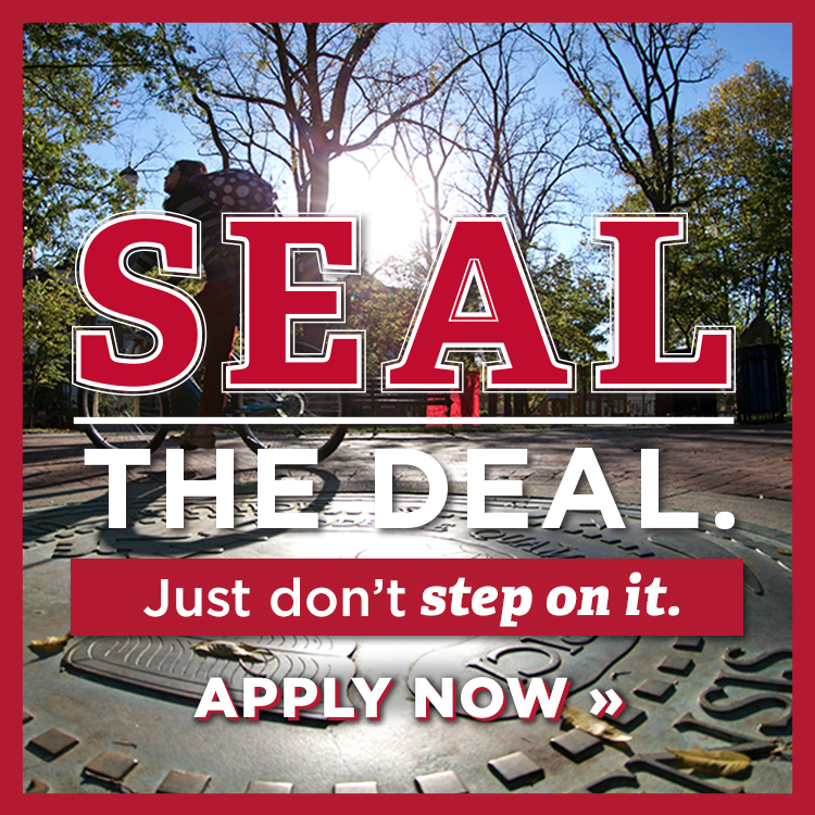 Seal the deal. Just don't step on it. Apply now »