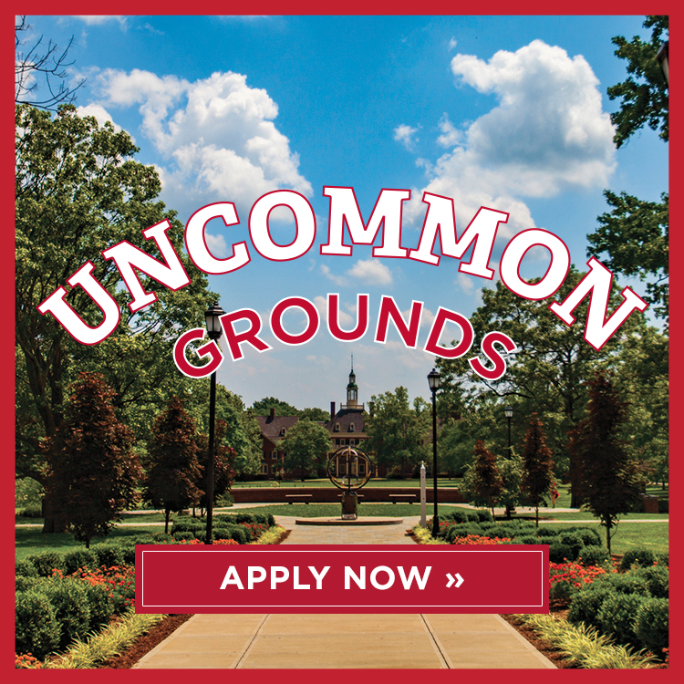 Uncommon grounds. Apply now.