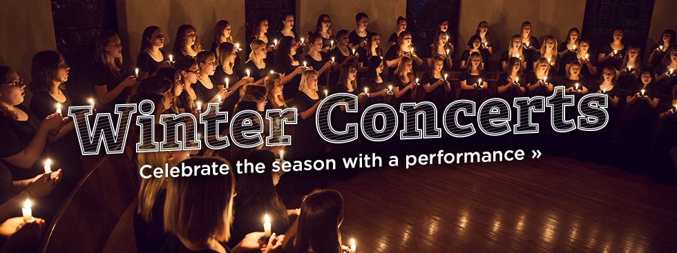 Winter Concerts. Celebrate the season with a performance »
