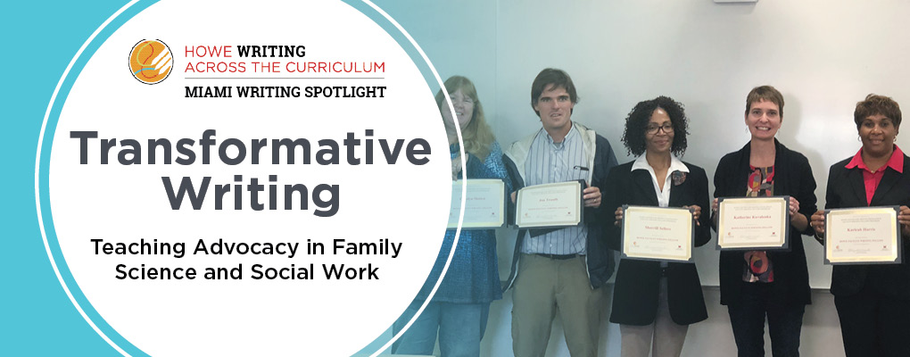 Transformative Writing: Teaching Advocacy in Family Science and Social Work