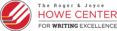 Howe Center for Writing Excellence logo
