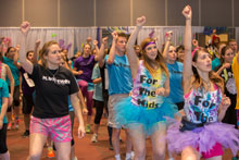 Students participate in the 2014 Dance Marathon