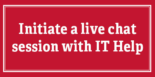 Initiate a live chat session with IT Help