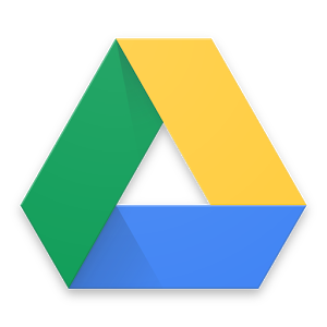 overlapping triangle with yellow, blue and green sides