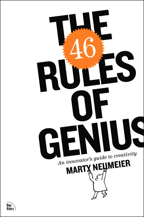 The 46 Rules of Genius: An innovator's guide to creativity book cover
